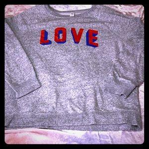 OLD NAVY women's XL fleece pullover sweater